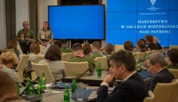"""Konferencja """"Harcerstwo w100-lecie niepodległości – nasi patroni"""""""