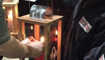 Betlejemskie Światło Pokoju naLubelszczyźnie