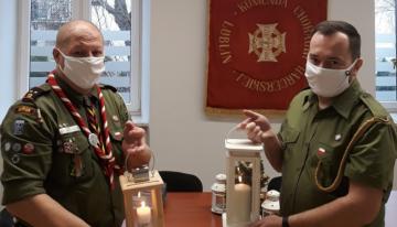Trwa sztafeta Betlejemskiego Światła Pokoju